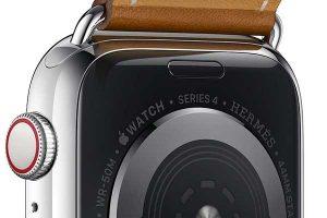 時計ケース エルメス刻印[2018 Apple Watch Hermès]