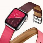 エルメス専用レザーストラップ[2018 Apple Watch Hermès]