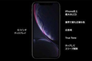 ディスプレイ:Liquid Retina[2019 新型 iPhone 11]