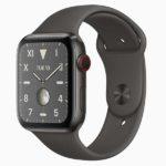 チタン モデル[2019 新型 Apple Watch Edition 5]