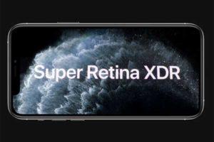 ディスプレイ:Super Retina XDR[2019 新型 iPhone 11 Pro]