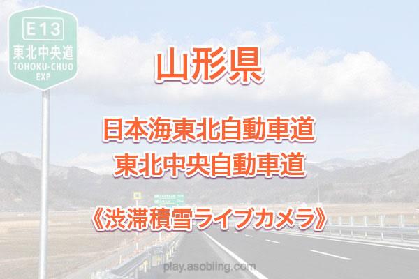 山形 東北自動車道[道路 渋滞積雪ライブカメラ]