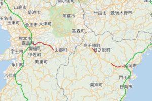 九州中央自動車道ライブカメラ[熊本地域]