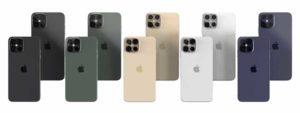 新機種の色[2020 新型 iPhone 12]