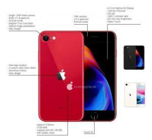 リーク画像 スペック[2020 新作 iPhone SE2]
