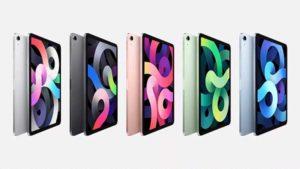 カラーバリエーション[2020 新型 iPad Air 第4世代]