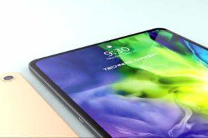 リーク デザイン画像[新型 iPad Air 4]