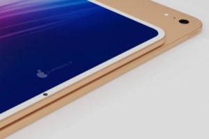 リーク デザイン画像[新機種 iPad Air 4]