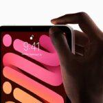 指紋認証 Touch ID[新型 iPad mini 6]
