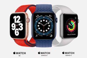 ラインナップ[2020 新機種 Apple Watch 6]