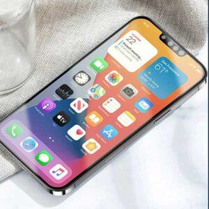 ノッチ小型化 モックアップ画像[2021 新型 iPhone 13]