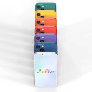 カラバリ カラフル 新しい色[2021 新型 iPhone 13]