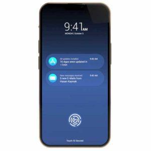 ディスプレイ内蔵式 Touch ID[2021 新型 iPhone 13]