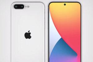 リーク画像 デザイン[2021 新型 iPhone SE4 (SE Plus) ]